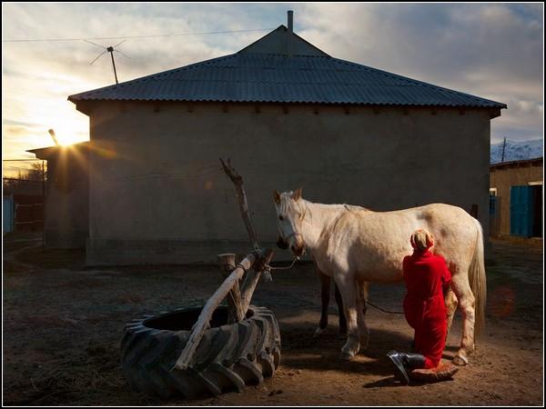 Kogershin Village, Kazakhstan