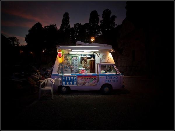 Ice Cream Vendor, Greece