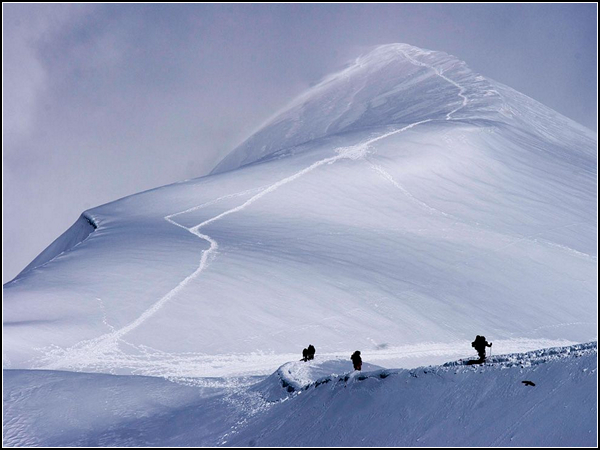 Alpine Climbers, Aiguille du Midi