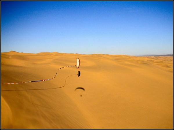 Paraglider, Glamis Dunes