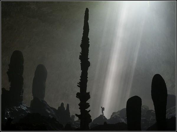 Cave Stalagmites, Vietnam