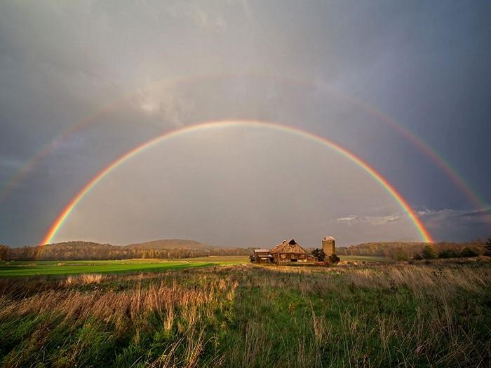 Rainbow, Lake Champlain
