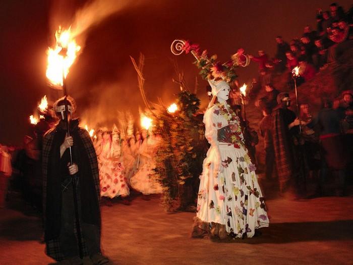 Beltane Fire Festival, Scotland
