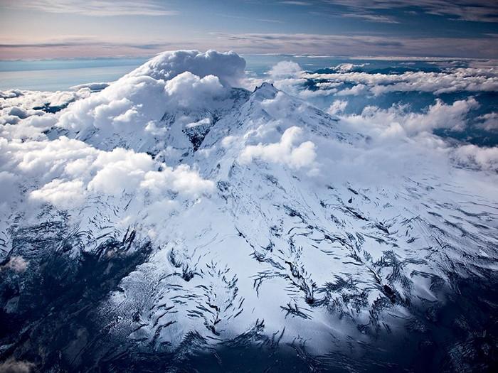 Iliamna Volcano, Alaska