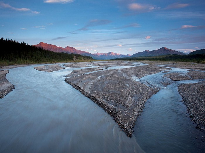 Teklanika River, Alaska