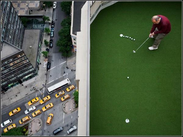 Rooftop Golf, New York