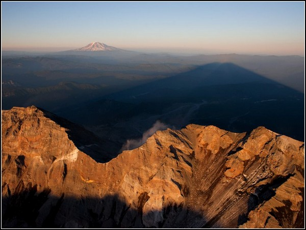 Mount St. Helens Shadow