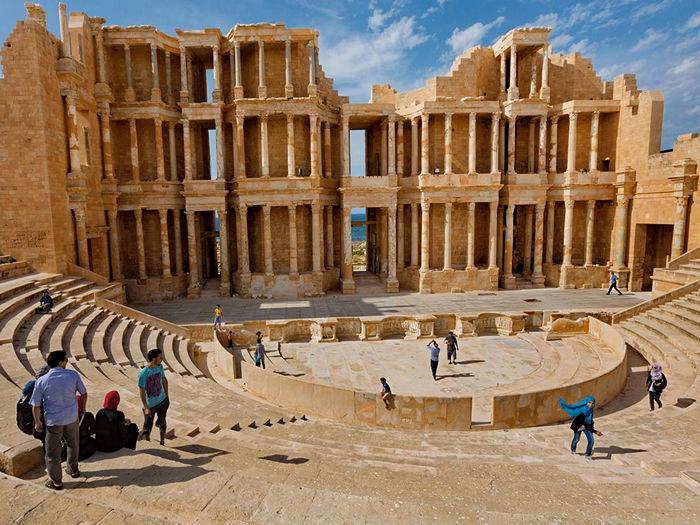 Roman Theater, Libya