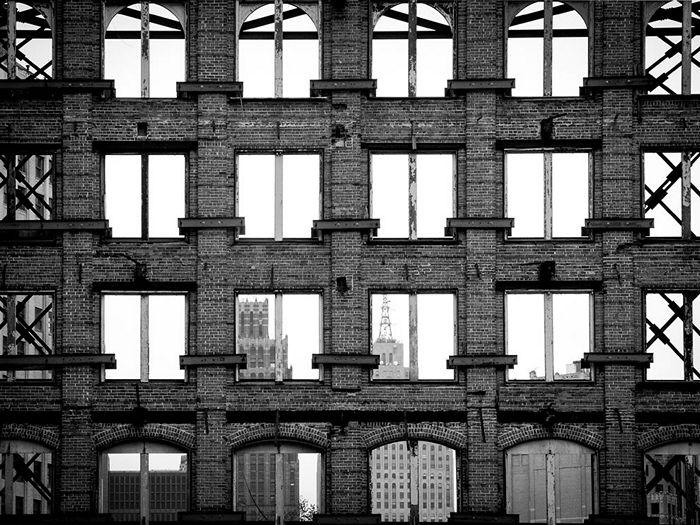 Building Facade, Detroit
