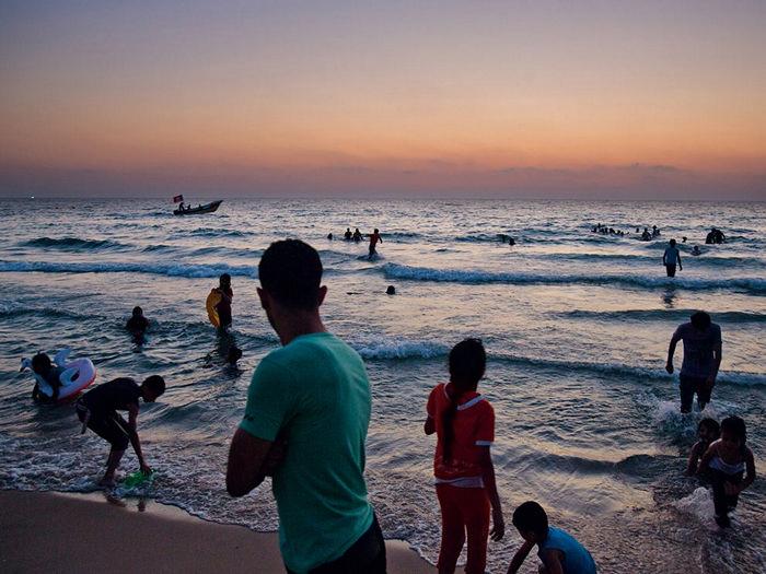 Beach, Gaza
