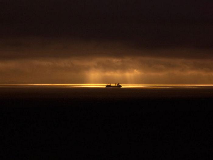 Ship, Juan de Fuca Strait