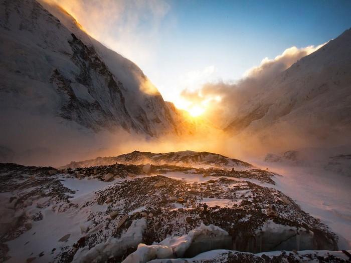 Sunset, Mount Everest