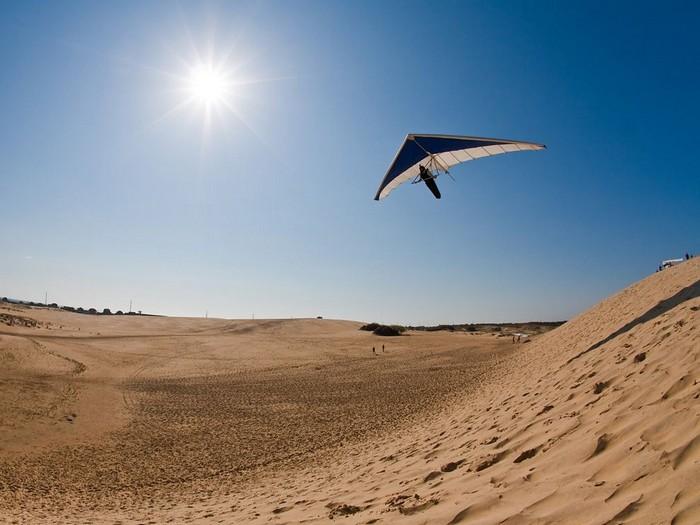 Hang Gliding, North Carolina