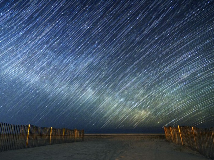 Star Trails, New Jersey