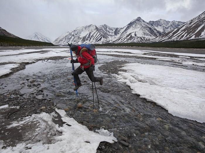 River Crossing, Alaska