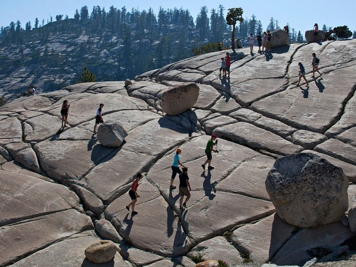 Boulders, Yosemite National Park