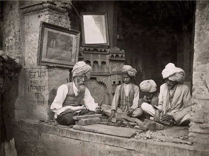 Woodcarvers, India