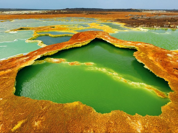 Hot Springs, East Africa