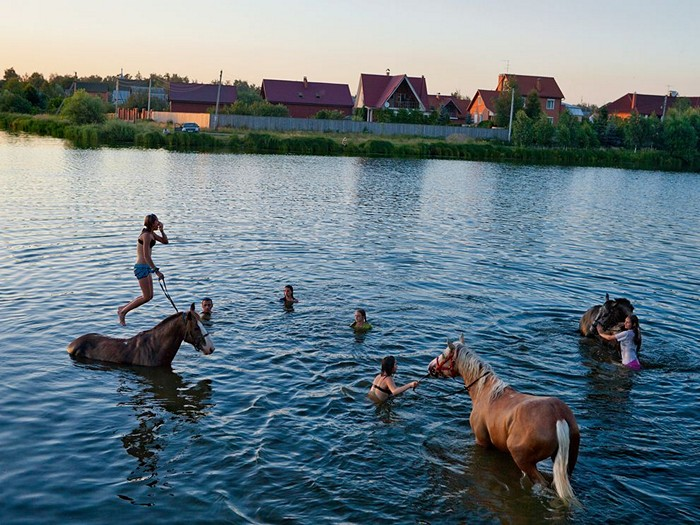Swimmers, Russia