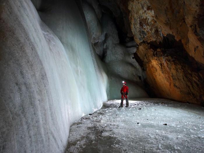 Ice Cave, Slovenia