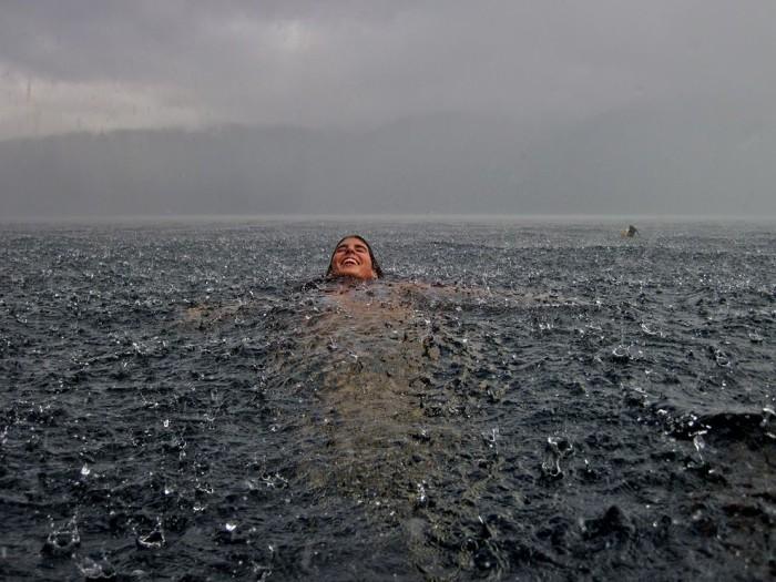 Rainstorm, Chile