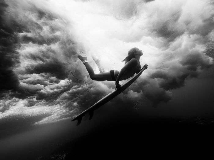 Underwater Surfer