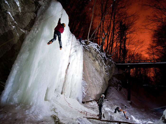 Ice Climbing, Croatia