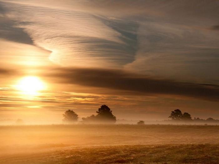 Morning Landscape, Lithuania