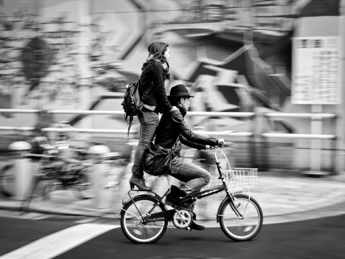 Bicycle Ride, Japan