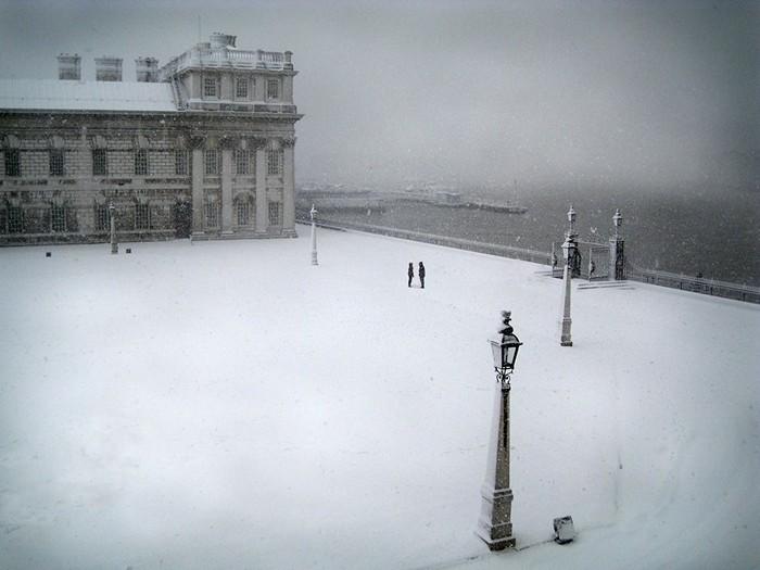 Winter Scene, London