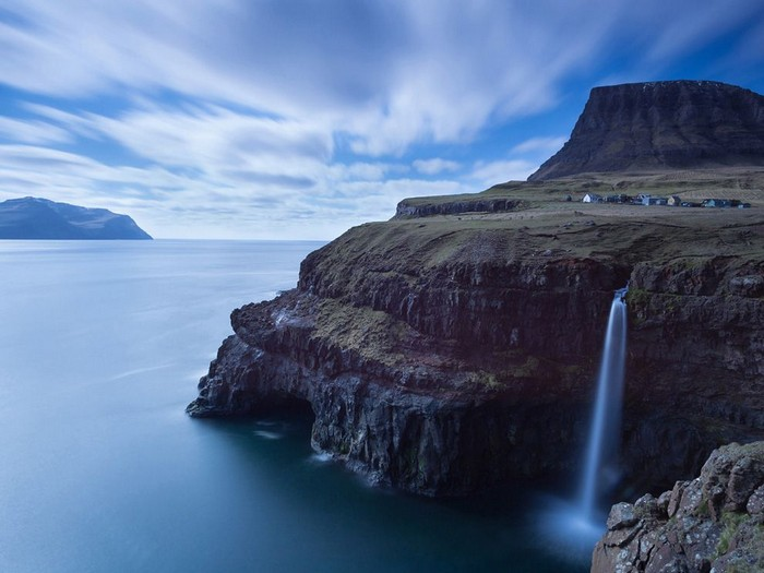 Village, Faroe Islands