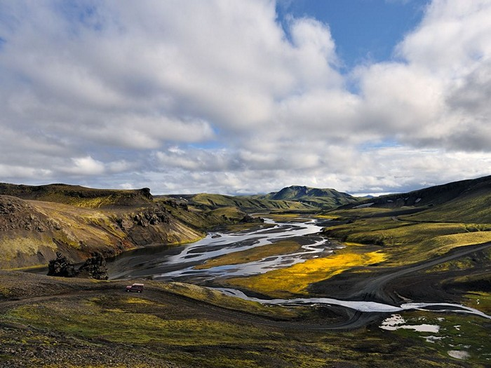 Riverbed, Iceland