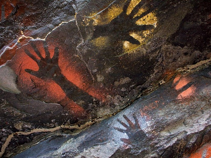 Cave Painting, Papua New Guinea