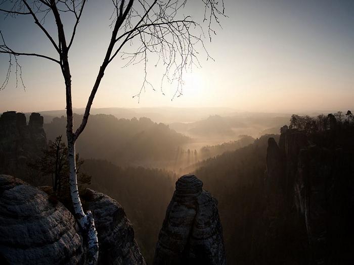 Sunrise, Saxony