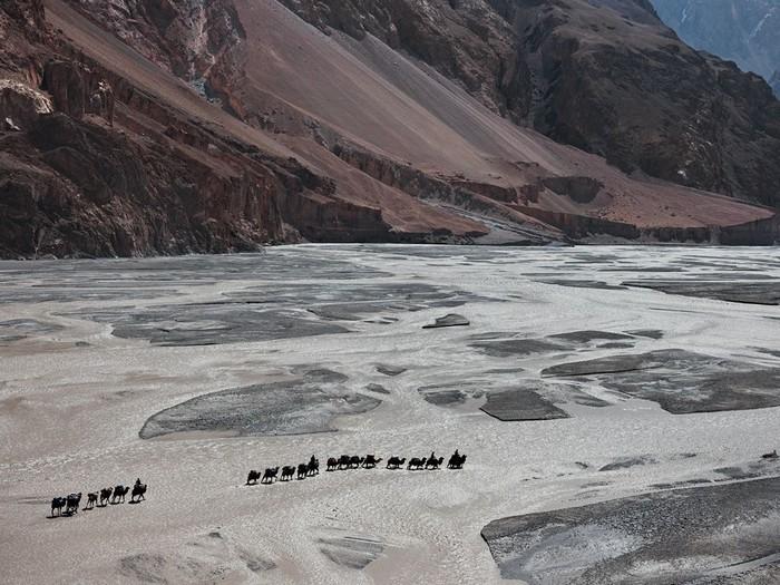 Camel Trek, Shaksgam River
