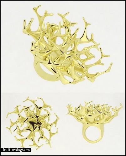*Натуральные* ювелирные изделия от Филиппа Крамера (Philippe Cramer)