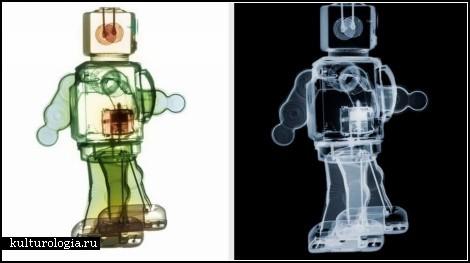 Картины, нарисованные рентгеном