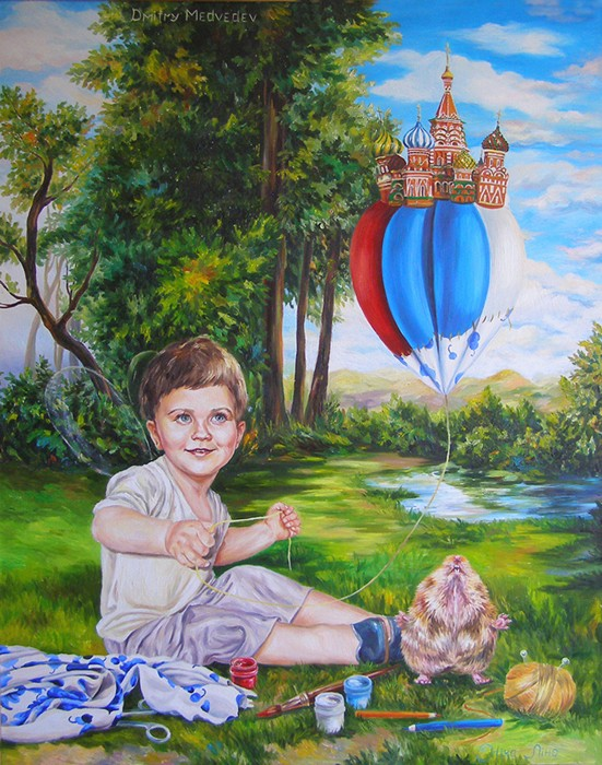 Задумчивый и романтичный эльф Дмитрий Медведев