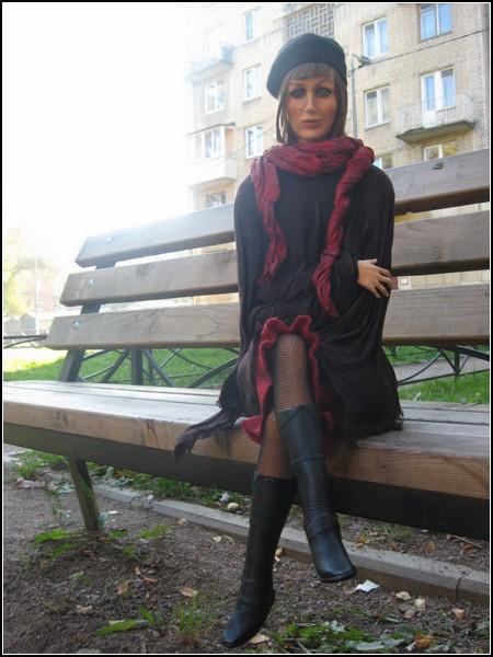 Авторские куклы Оксаны Мироновой. (фото из архива художницы)
