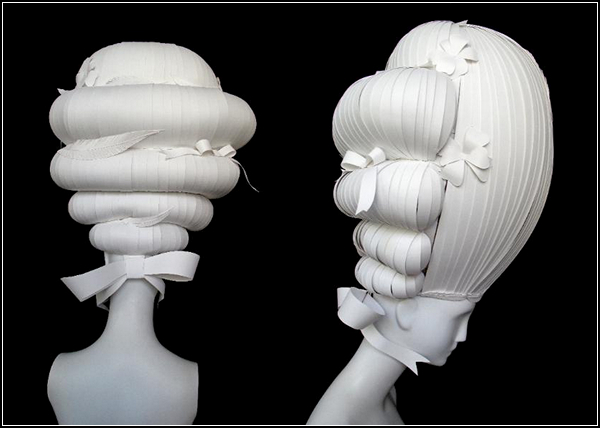 Как сделать парик из синтепона