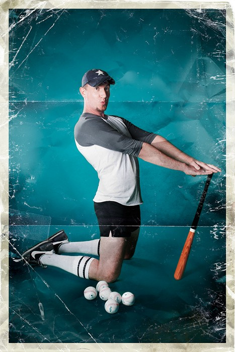 Пин-ап по-мужски исполнении мужчин. Серия забавных плакатов Риона Сабина (Rion Sabean)