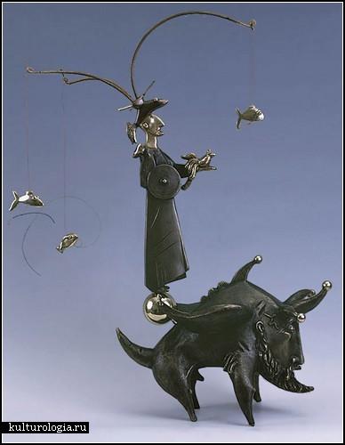 Диковинные бронзовые скульптуры украинского автора Олега Пинчука