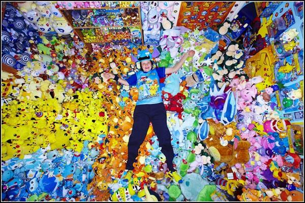 Коллекция покемонов из Книги рекордов Гиннесса