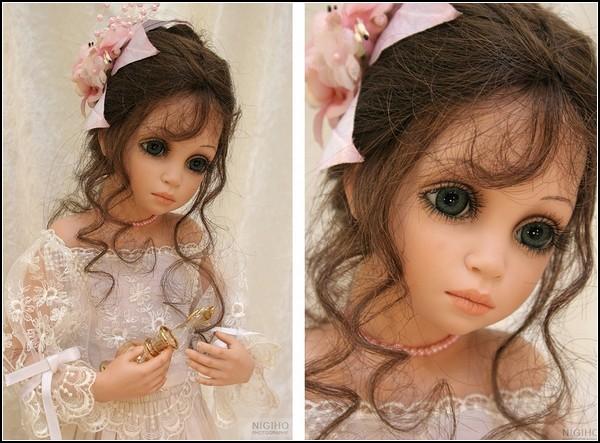 Фарфоровые девочки Siu Ling Wang