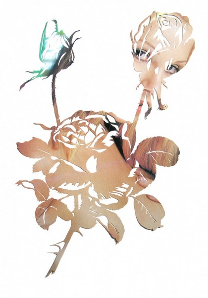 The Collector. Серия paper-art из порнографических журналов от Тома Галланта