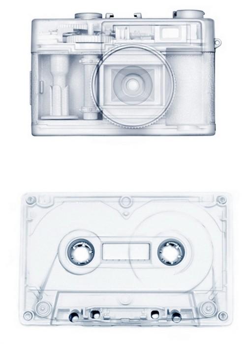 Техника в лучах рентгена. Фотопроект Proposition One