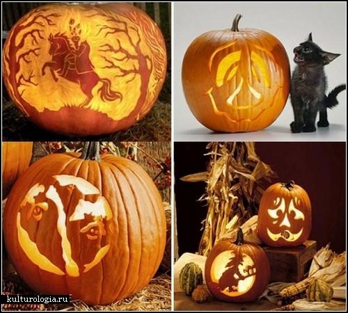 Pumpkin art к хеллоуину