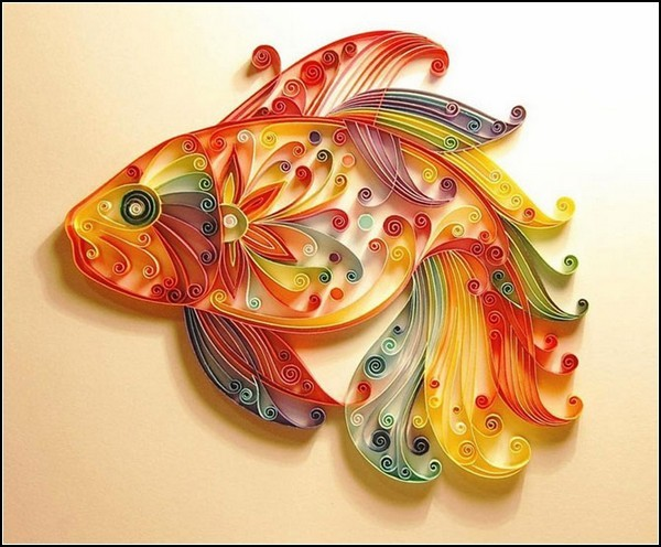 Орнамент ручной работы на... работы мастера IRON-MAIDEN-ART.  Я уже писал о квиллинге, приводя в качестве примера...