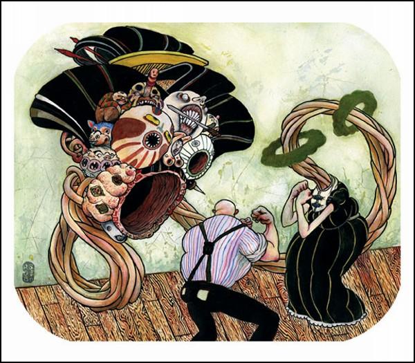 Самые мрачные художники современности 10 часть. Роб Сато