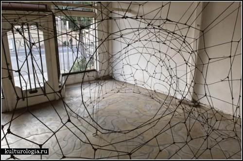Веревочные паутинки Скотта Хоува (Scott Hove)